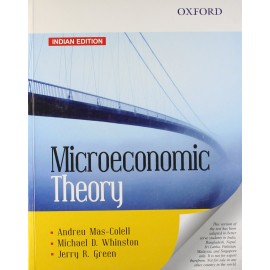 Oxford Publication [Microeconomic Theory (English), Paperback] by Andreu Mas-Colell, Michael D. Whinston and Jerry R. Green