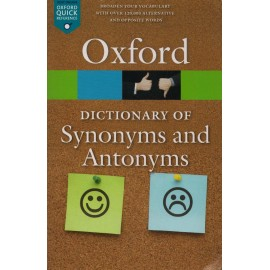 Oxford University Press [Dictionary of Synonyms and Antonyms (English), Paperback]