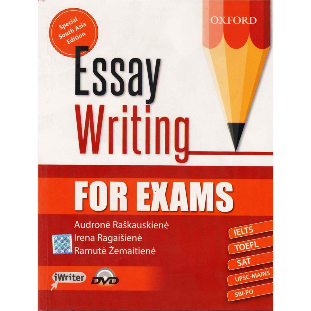 Oxford University Press [Essay Writing for Exams with DVD, Paperback] by Audrone Raskauskiene, Irena Ragaisiene, Ramute Zemaitiene