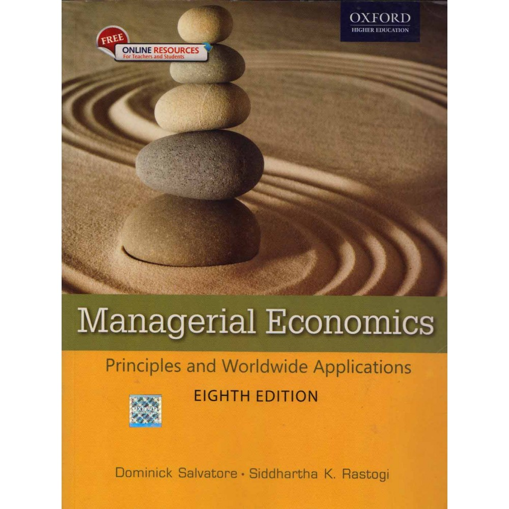 Oxford University Press [Managerial Economics Principles and Worldwide  Applications (English), Paperback 8th Edition] by Dominick Salvatore &