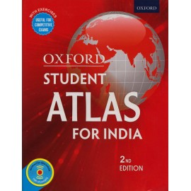 Oxford University Press [Oxford Student Atlas For India 2nd Edition (English), Paperback]