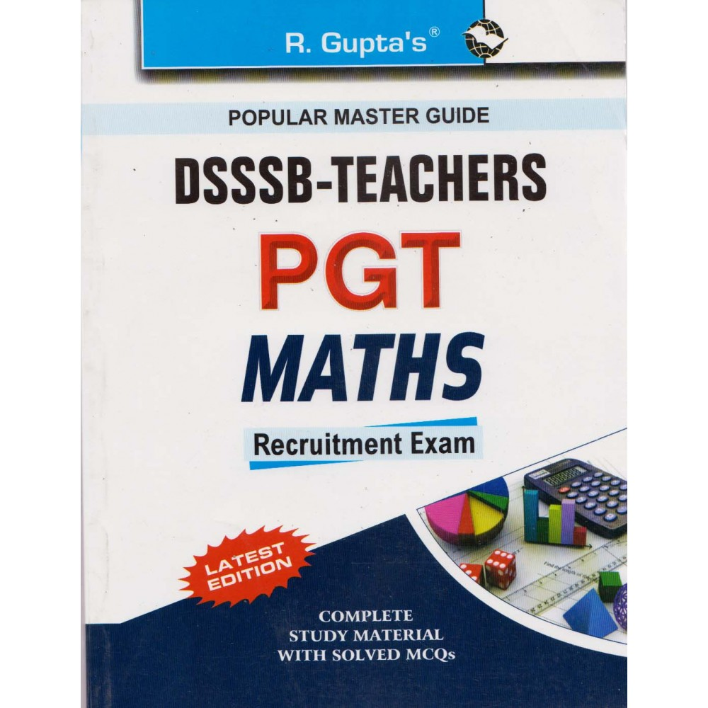 R' Gupta Publication [DSSSB PGT MATHS Study Material & Objective Question (English, Paperback)