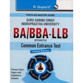 R' Gupta Publication [Guru Gobind Singh Indraprastha University BA/BBA- LLB Entrance Examination, Paperback] by R' Gupta Team
