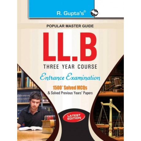 R' Gupta Publication LLB (3 Years Course) Entrance Examination Guide  (English, Paperback, RPH Editorial Board)