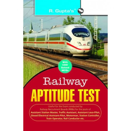 R'GUPTA PUBLICATION [RAILWAY RECRUITMENT BOARD, PSYCHOLOGICAL/APTITUDE TEST (ENGLISH) PAPERBACK] BY R'GUPTA TEAM