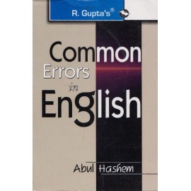 R. Gupta's Publication [Common Errors in English, Paperback] by Abul Hashem