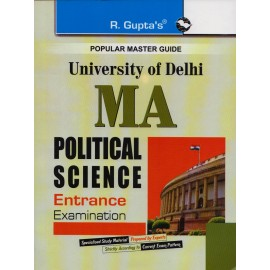 R. Gupta's Publication [DU- MA Political Science (English) Entrance Examination]- 2017-18