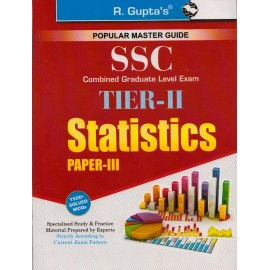 R. Gupta's Publication [SSC TIER - II Statistics Paper - III with 1500+ Solved MCQs (English) Paperback]