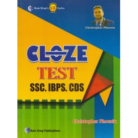 Rain Drop's Publication [Cloze Test SSC, IBPS CDS, Paperback] by Christopher Phoenix