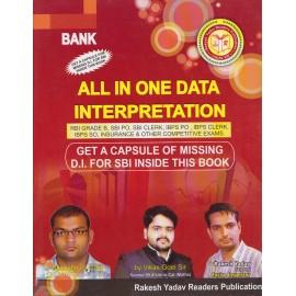 Rakesh Yadav Readers Publication [All in One Data Interpretation (English) Paperback] by Vishwas Gard, Vikas Goel and Rakesh Yadav