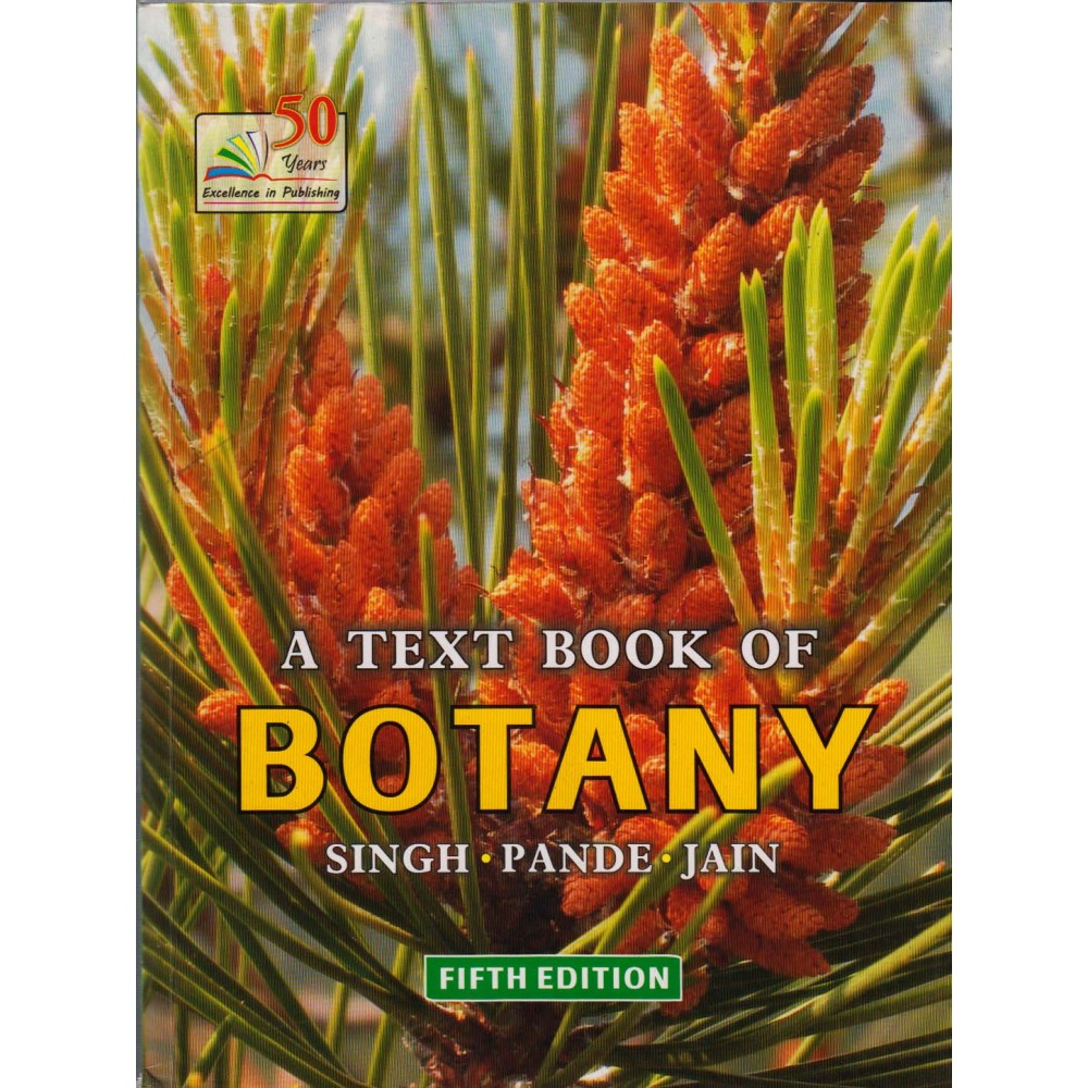 Rastogi Publication [A Text Book of Botany 5th Edition, English, Paperback] by Singh, Pandey, Jain