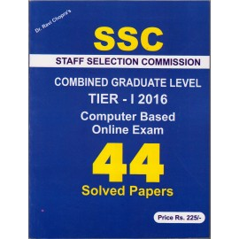 Read and Learn Publication Delhi [SSC CGL TIER - I  2017 Online Exam 44 Solved Paper (English)] by Dr. Ravi Chopra's