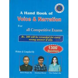 RR Publication [A Hand Book of Voice & Narration for All Competitive Exam, Paperback] Written & Compiled by Rakesh Ranjan Jha, Sandeep Rawat & Nitu Pathak Jha