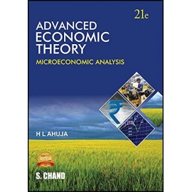 S. Chand Publication [Advanced Economic Theory (Microeconomic Analysis) English, Paperback] H L Ahuja