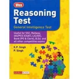 Source Books Publication [General Intelligence & Reasoning Test (Hindi) Paperback] by K. P. Singh & P. Singh