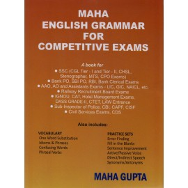 SSC Exam Forum [English Grammar for Competitive Exams (English), Paperback] by Maha Gupta