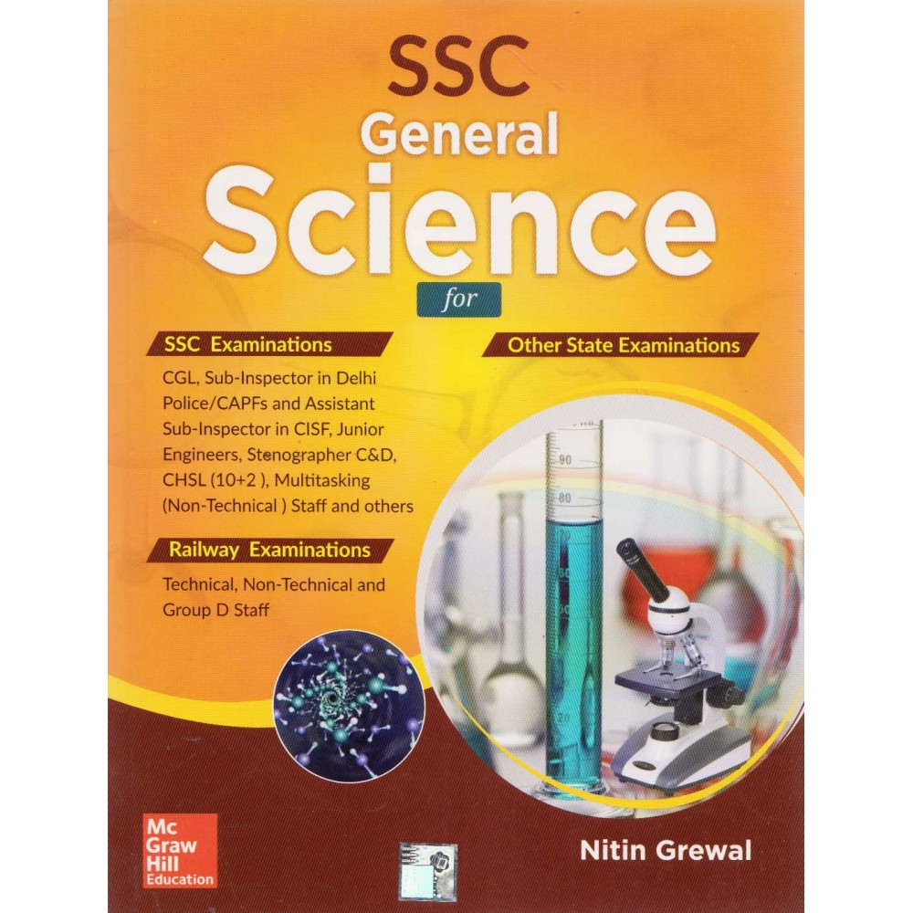 SSC General Science (English, Paperback) by Nitin Grewal