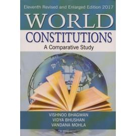Sterling Publishers PVT LTD [World Constitutions A Comparative Study (10th Edition) Paperback] by Vishnoo Bhagwan, Vidya Bhushan and Vandana Mohla