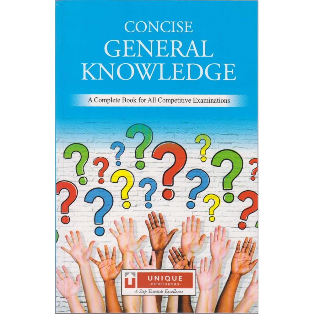 Unique Publication [Concise General Knowledge (English), Paperback] by J. K. Chopra