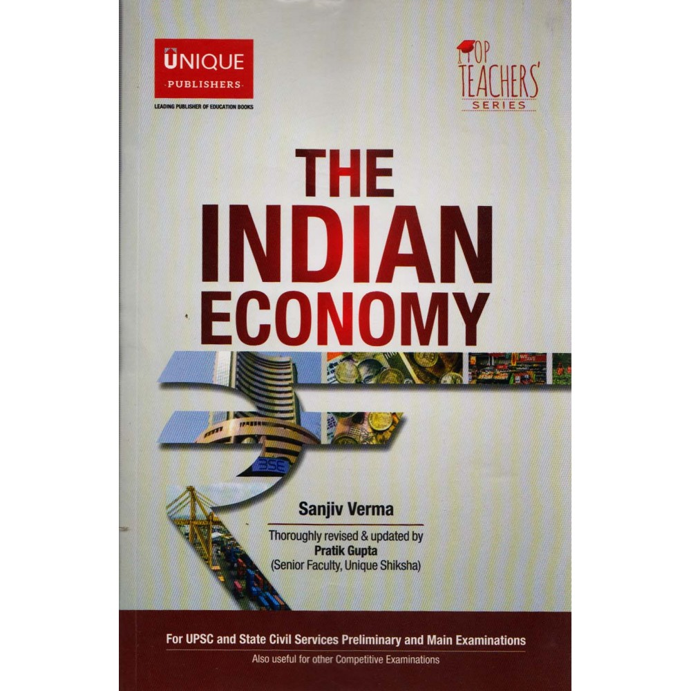Unique Publication [The Indian Economy (English), Paperback] by Sanjiv Verma