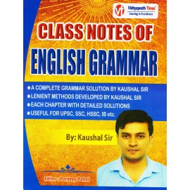 Vidhyapeeth Times Publication [Class Notes of English Grammar, Paperback] by Kaushal Sir