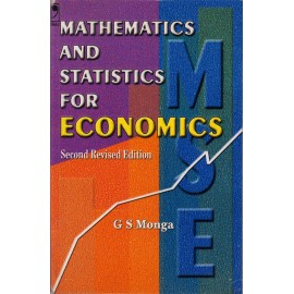 Vikas Publishing House [Mathematics and Statistics for Economic 2nd Edition (English), Paperback] by G S Monga