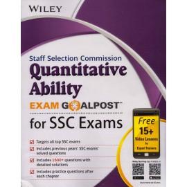 Wiley Publication [SSC Quantitative Ability Exam Goalpost (English), Paperback]