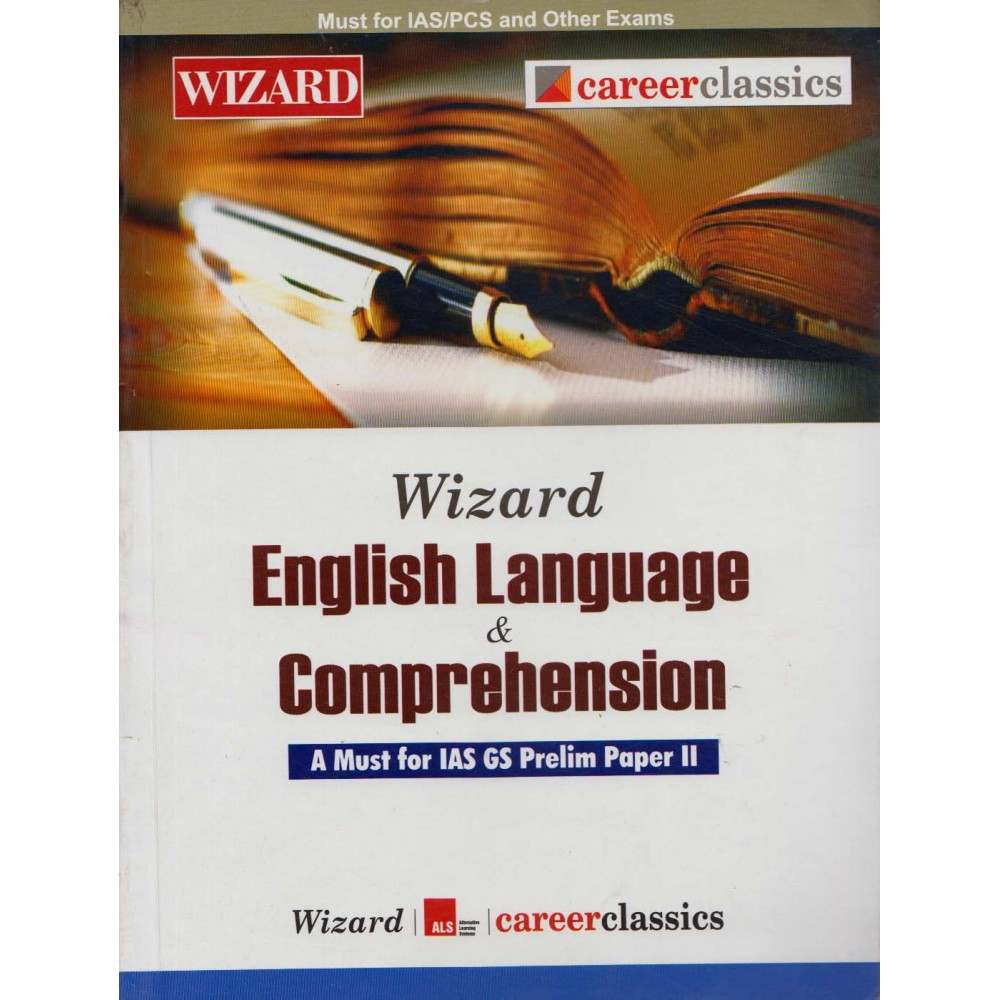 Wizard Publication PVT LTD. [Wizard English Language and Comprehension (English) Paperback] by Jojo Mathew and Manish K. Gautam