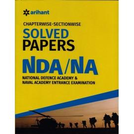 Arihant Publication [NDA/NA Solve Paper Chapterwise] (English)