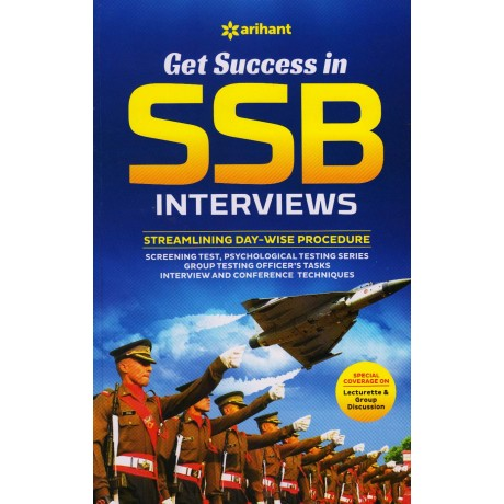 Arihant Publication PVT LTD [Get Success In SSB Interviews  (English), Paperback]