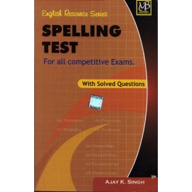 MB Book Publication [Spelling Test] Author - Ajay K. Singh