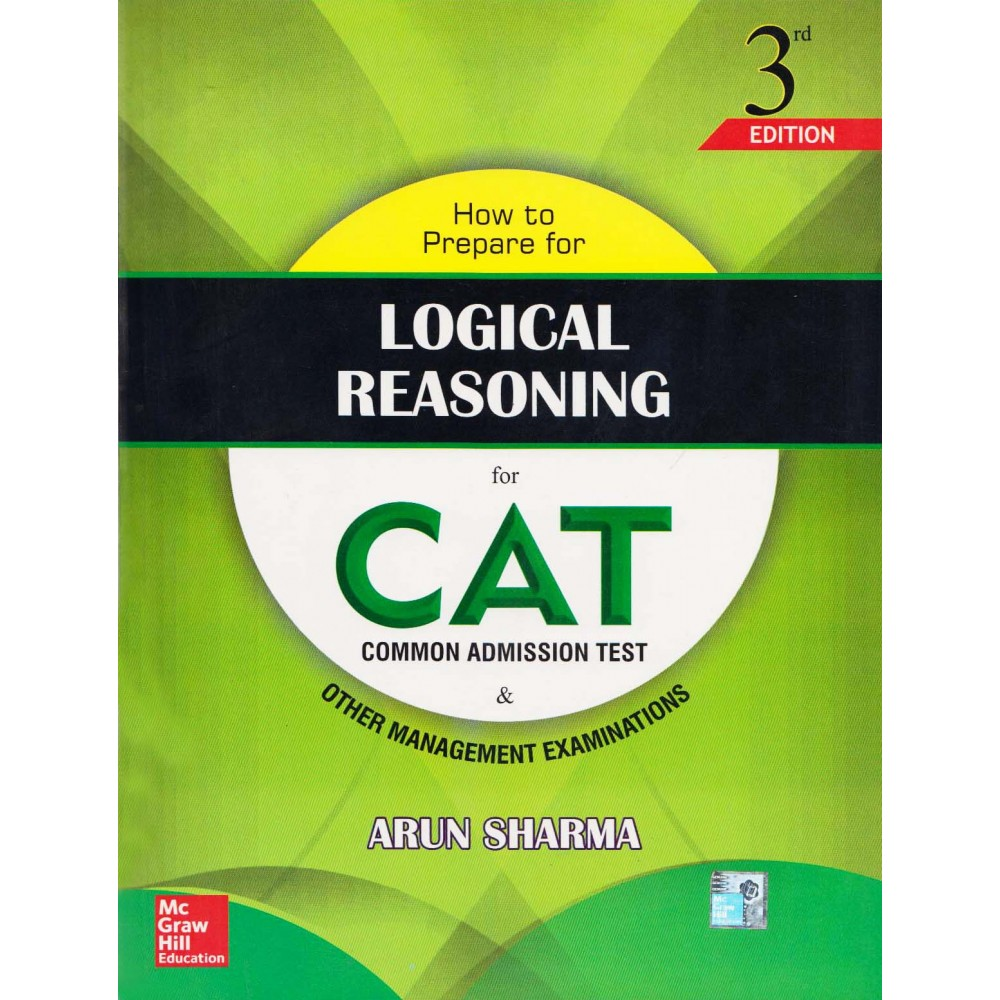 McGraw Hill Education [Logical Reasoning for CAT, 3th Edition, Paperback (English)] by Arun Sharma