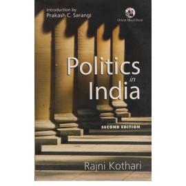 Orient BlackSwan [Politics in India Second Edition] by Rajni Kothari