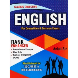 Classic Objective English for RANK ENHANCER by Ankul Sir