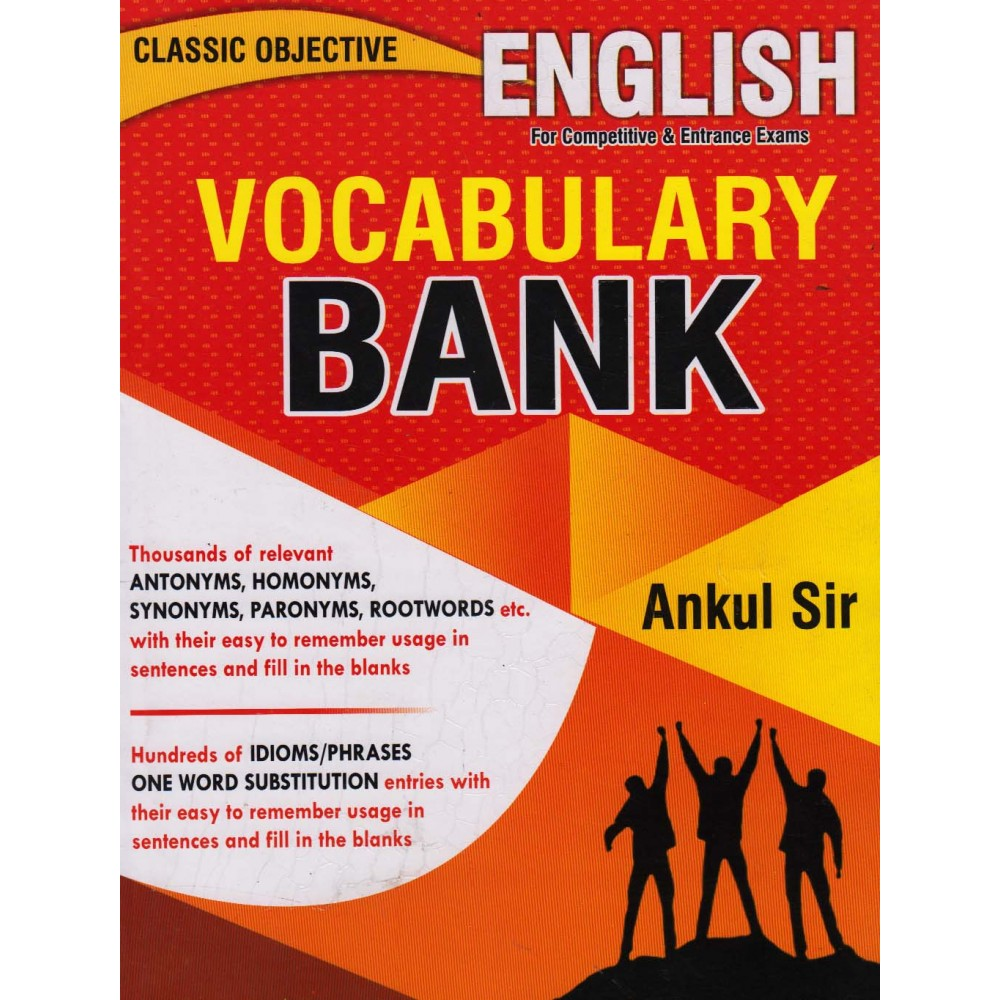 Classic Objective English for Vocabulary  by Ankul Sir