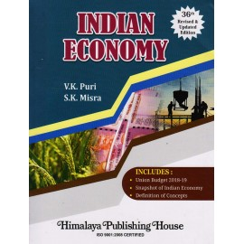 Himalaya Publishing House [Indian Economy (English) 36th Edition Paperback] by V. K. Puri & S. K. Mishra
