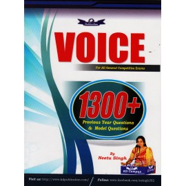 KD Publication [Voice 1300+ Previous Year Questions & Modal Questions -Paperback] by Neetu Singh
